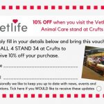 Crufts Voucher