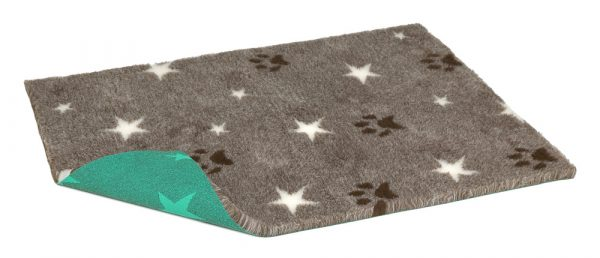 Vetbed Brown with stars and paws