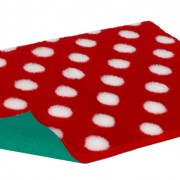 Vetbed Original - Polka Dot - Red & White