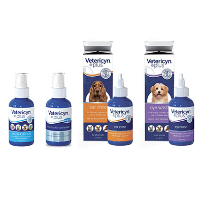 Vetericyn Wound and Skin Care products