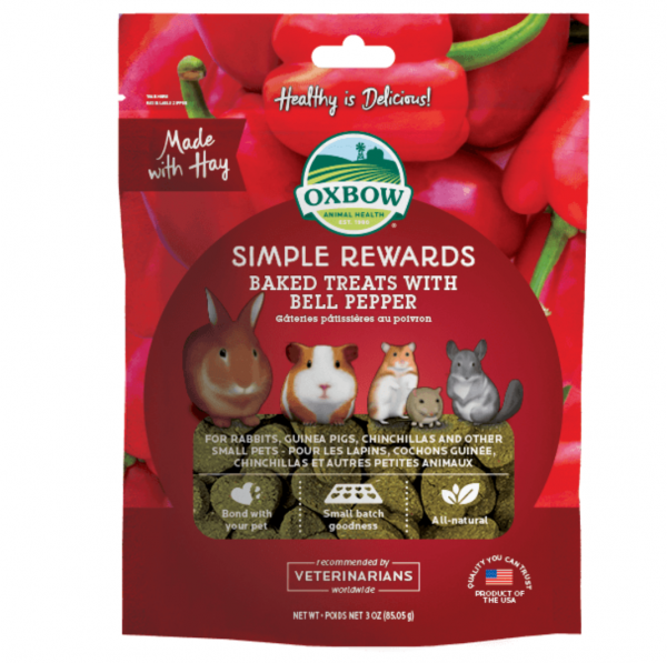 Oxbow Baked Treats Bell Pepper