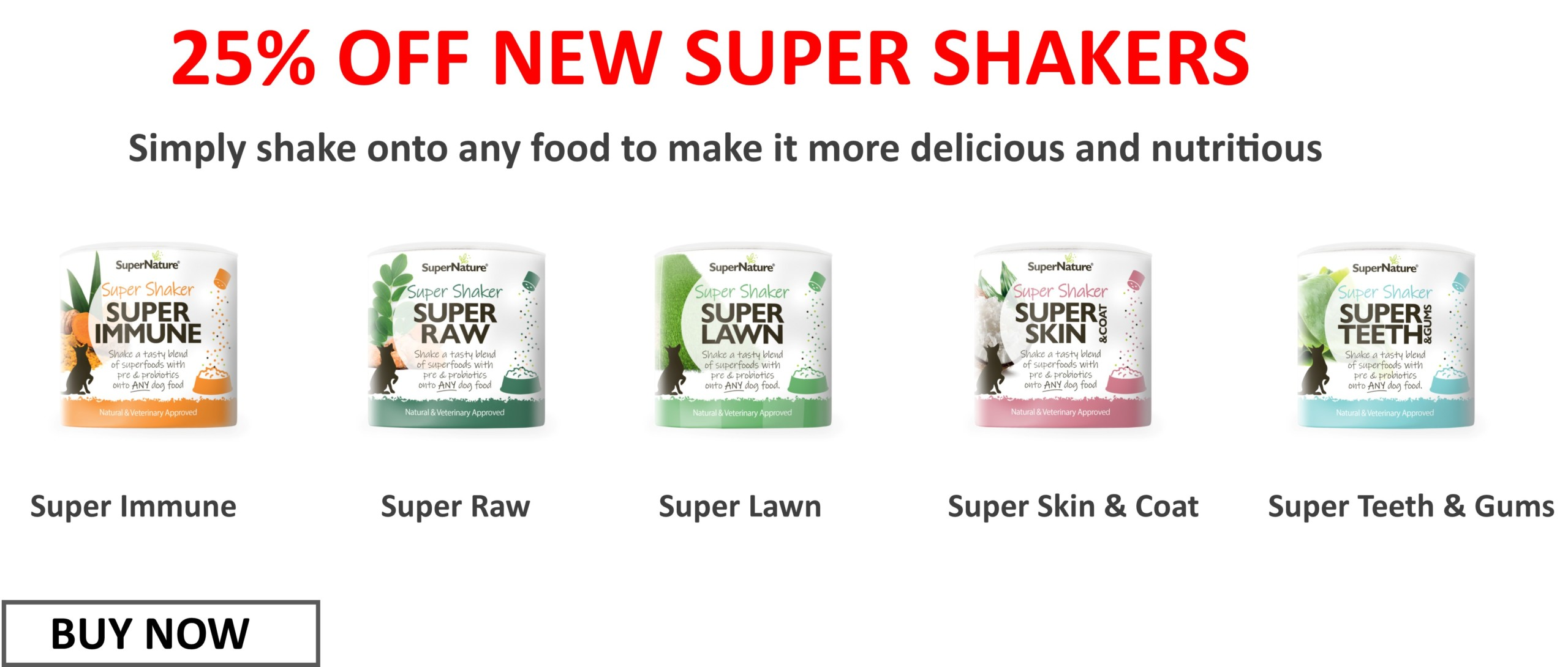 Super Shakers offer